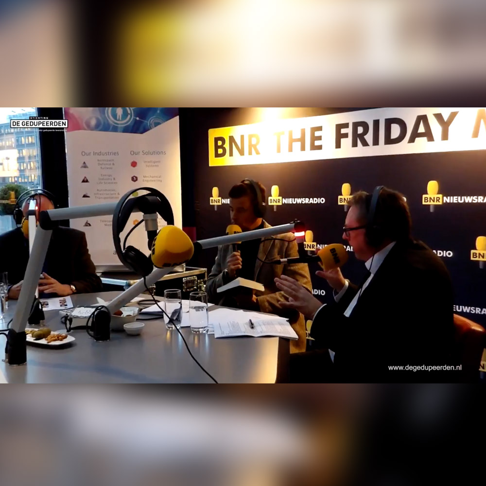 BNR The Friday Move radio interview