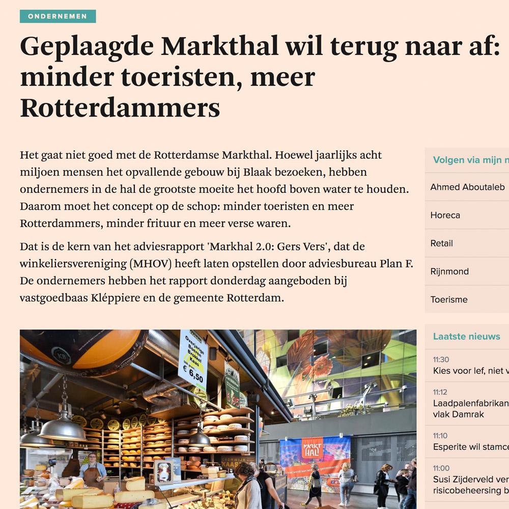 Geplaagde Markthal wil terug naar af.